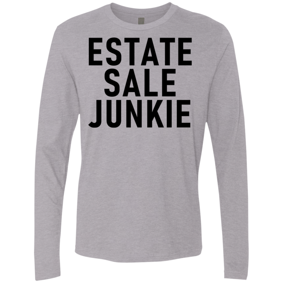 Estate Sale Junkie Men's Long Sleeve Tee