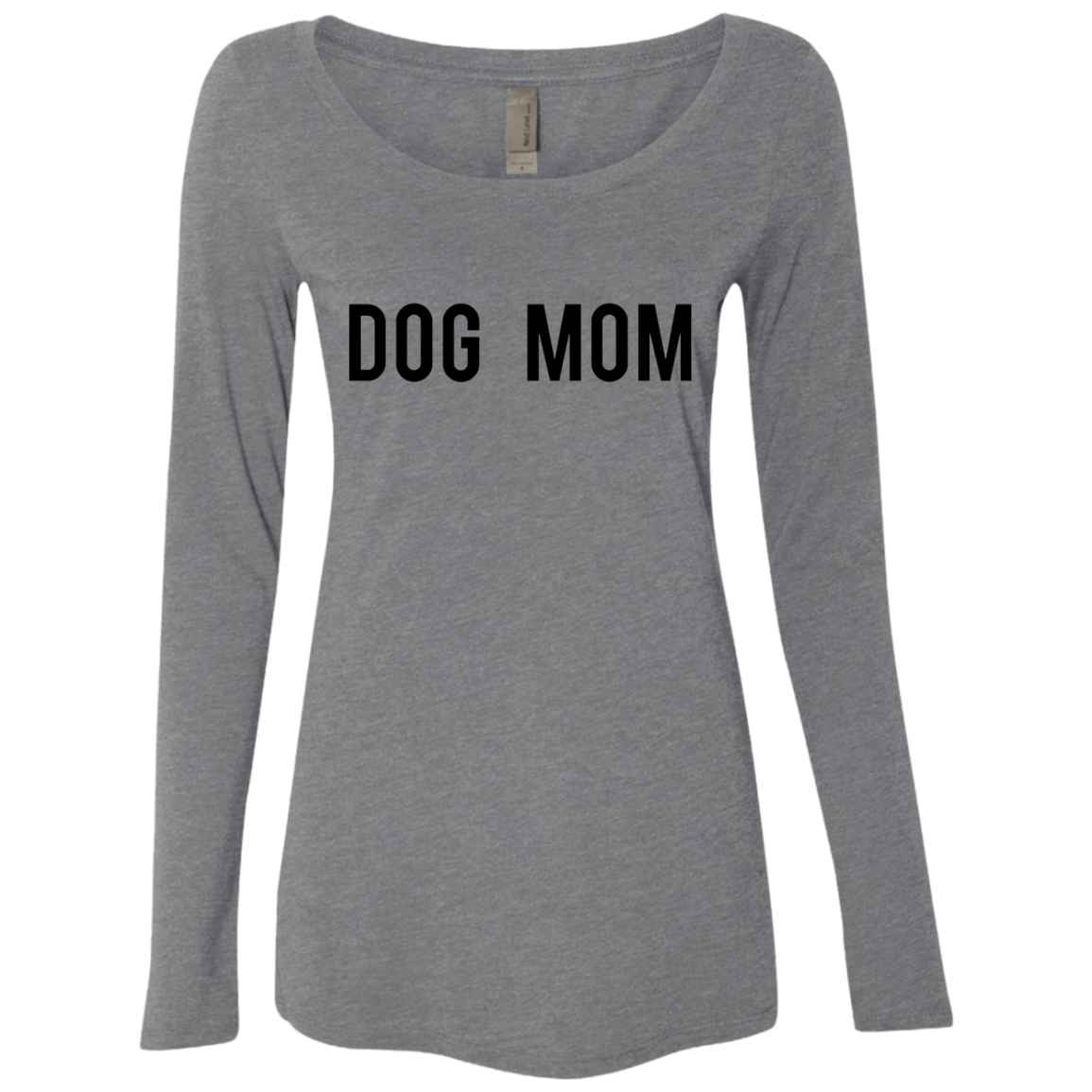 Dog Mom Women's Long Sleeve Tee - Trendy Tees