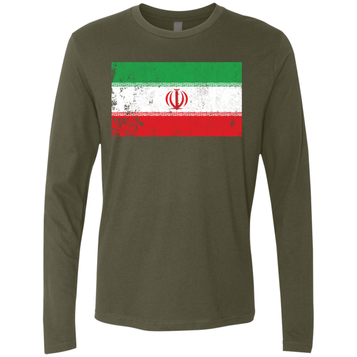 Iran Men's Long Sleeve Tee