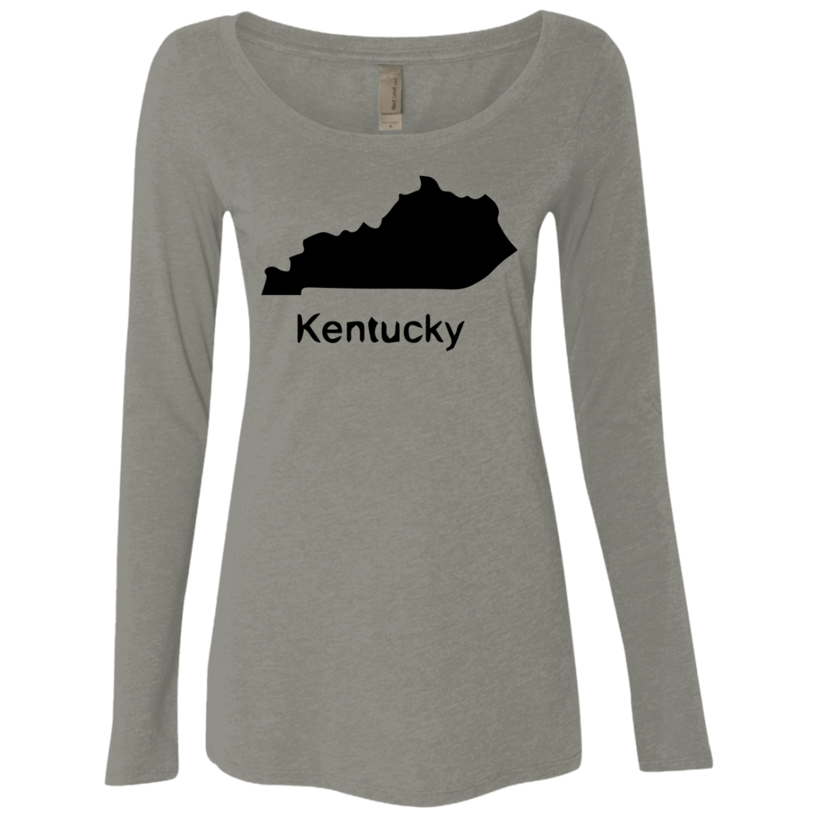 Kentucky Black Women's Long Sleeve Tee