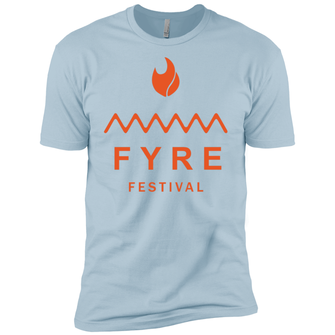Fyre Festival was Lit Orange Men's Classic Tee - Trendy Tees