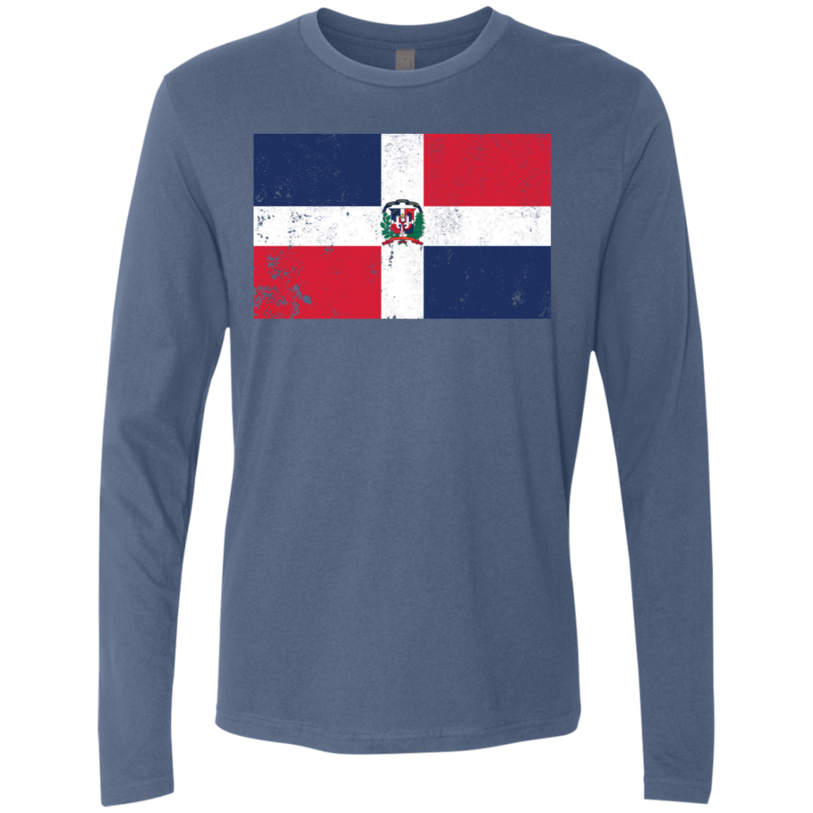 Dominican Rep Men's Long Sleeve Tee