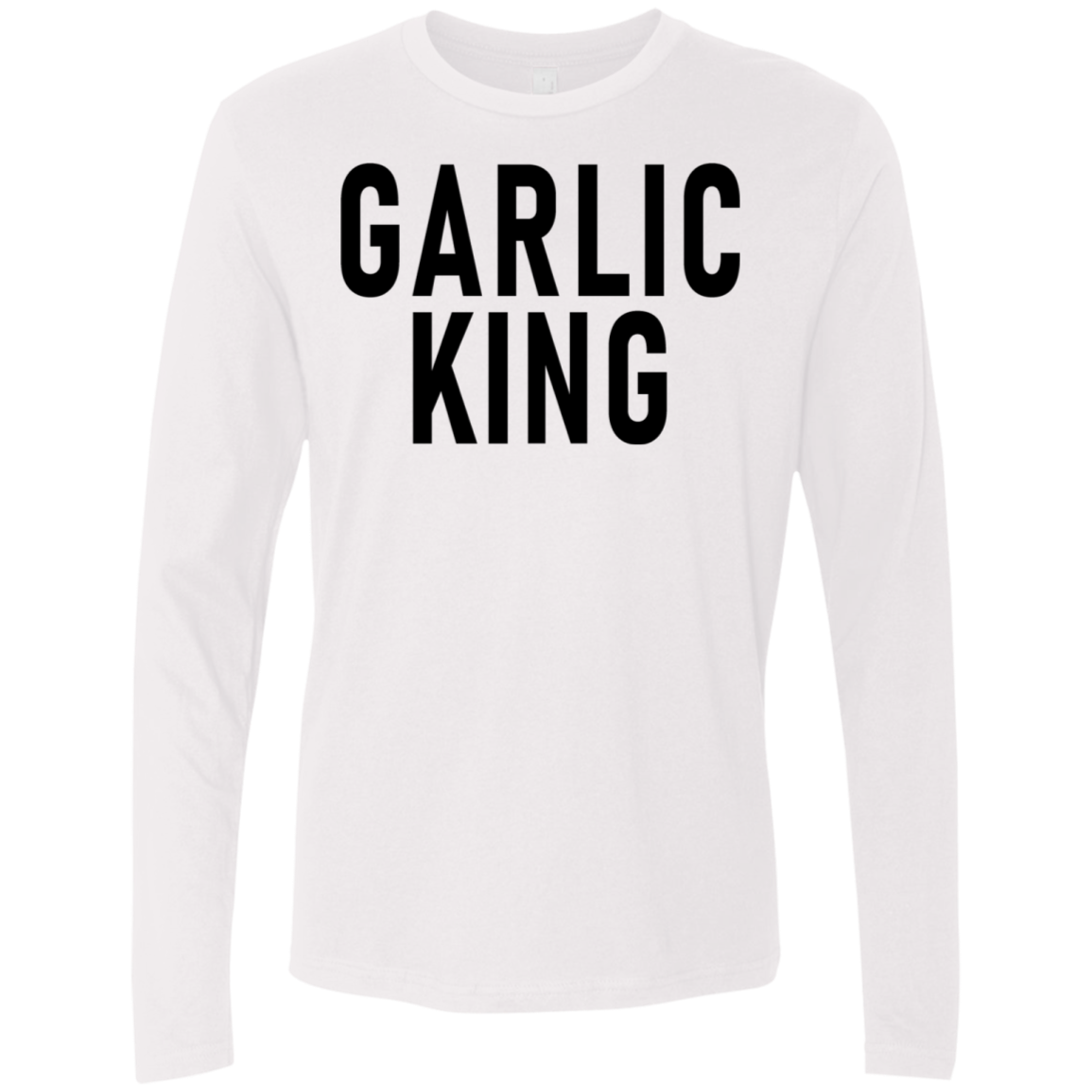 Garlic King Men's Long Sleeve Tee