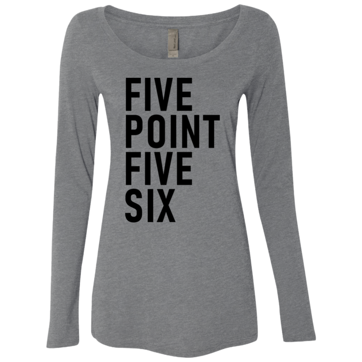 Five Point Five Six Women's Long Sleeve Tee