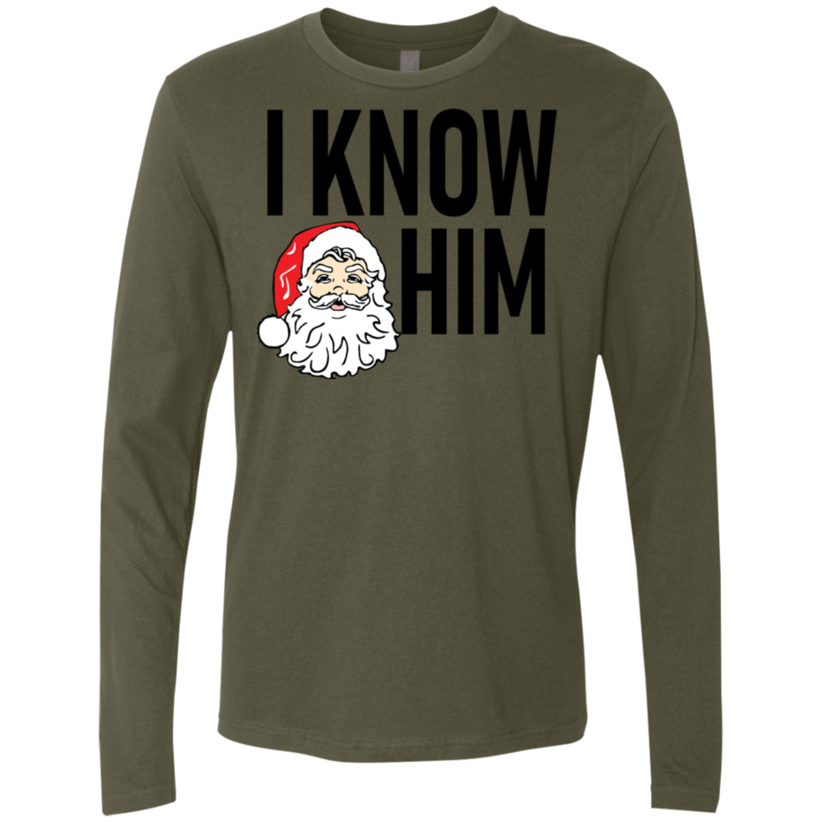 I Know Him Men's Long Sleeve Tee