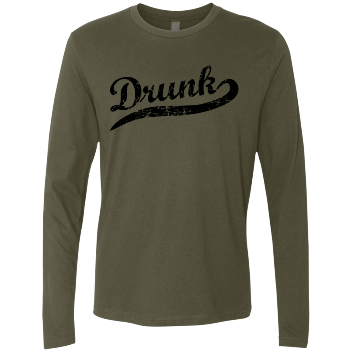 Drunk Men's Long Sleeve Tee