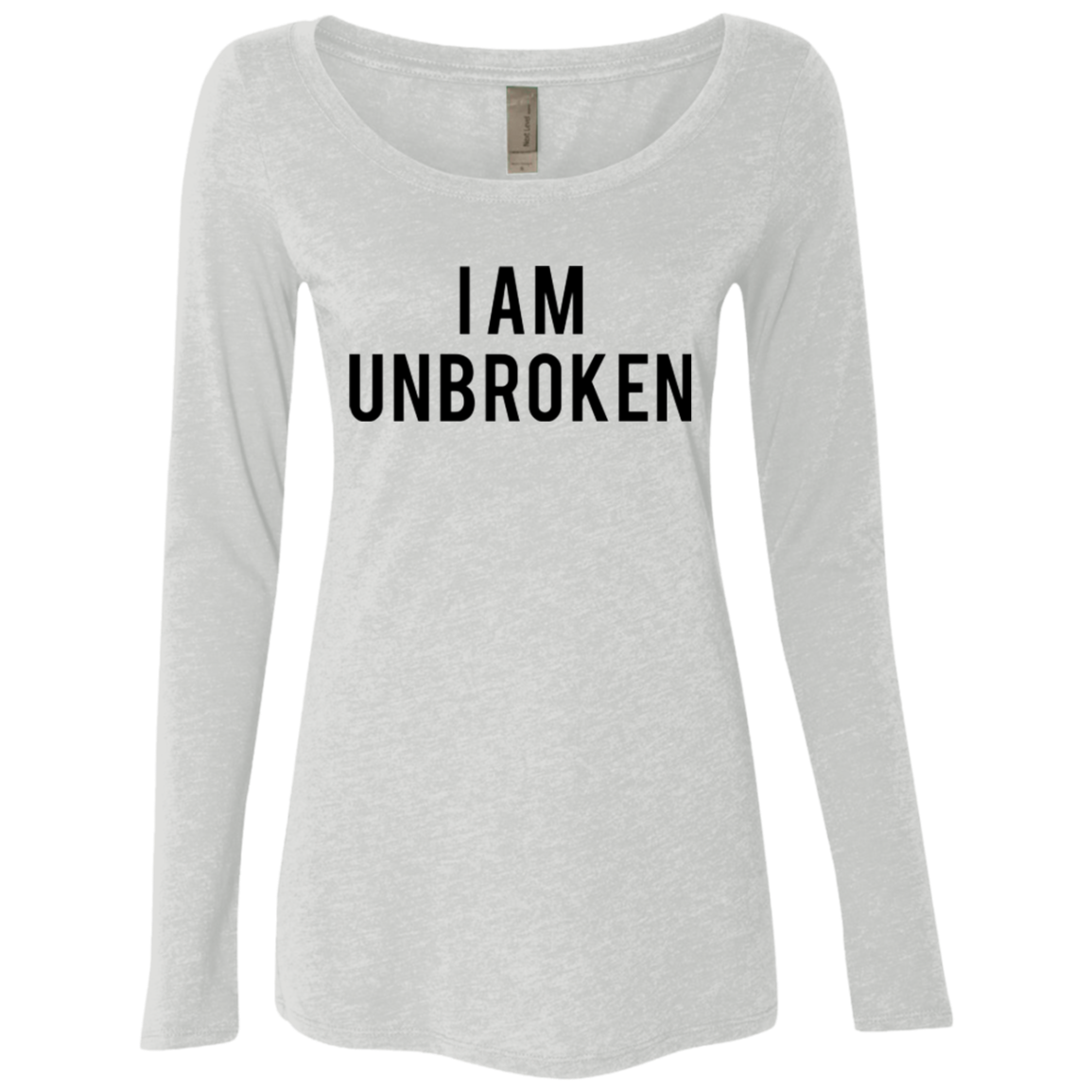 I Am Unbroken Women's Long Sleeve Tee