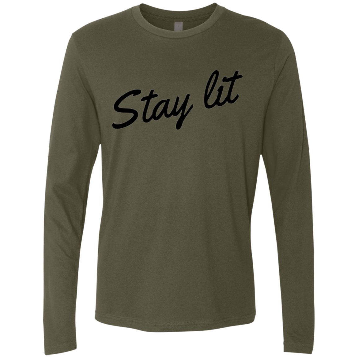 Stay Lit Men's Long Sleeve Tee