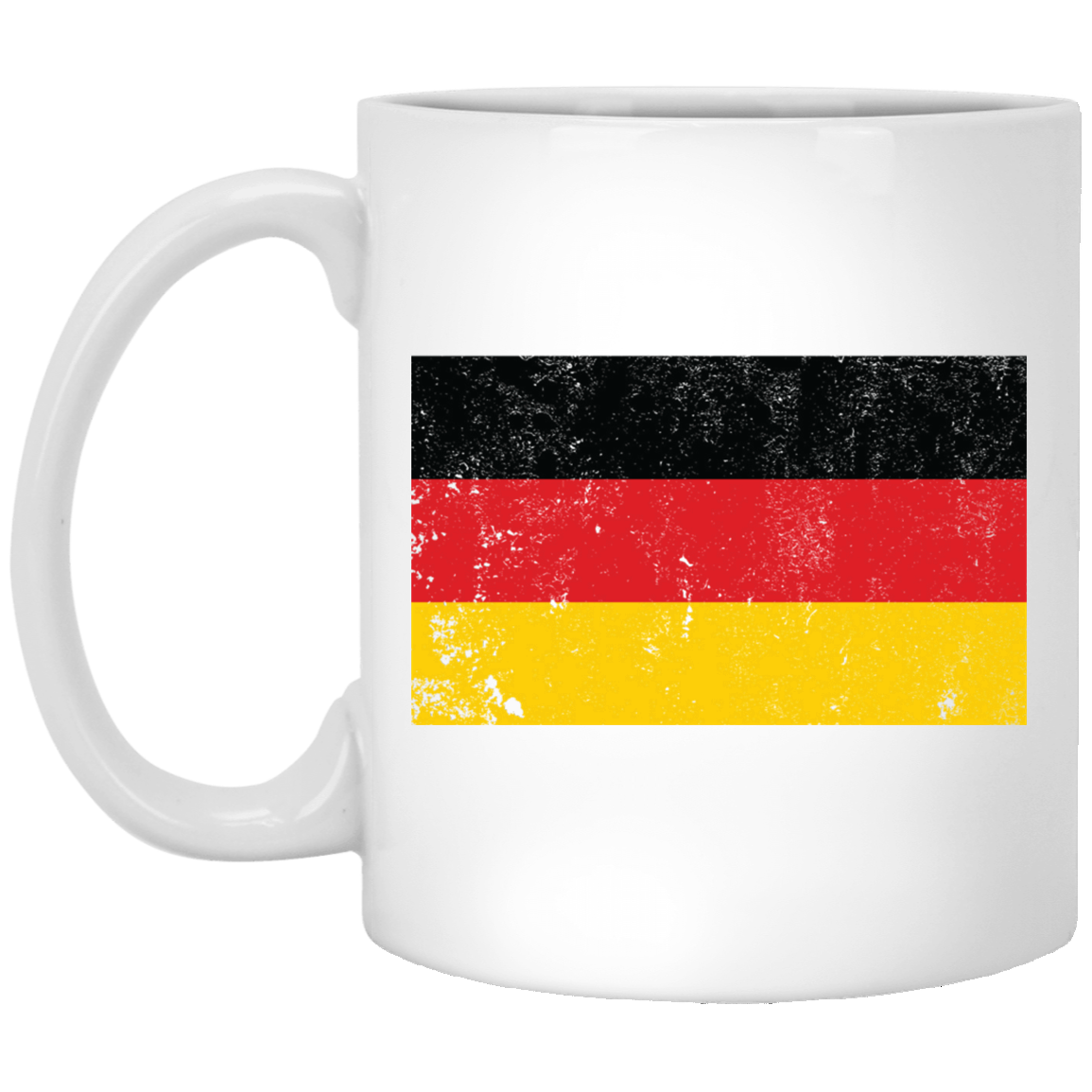 Germany 11 oz. White Coffee Mug