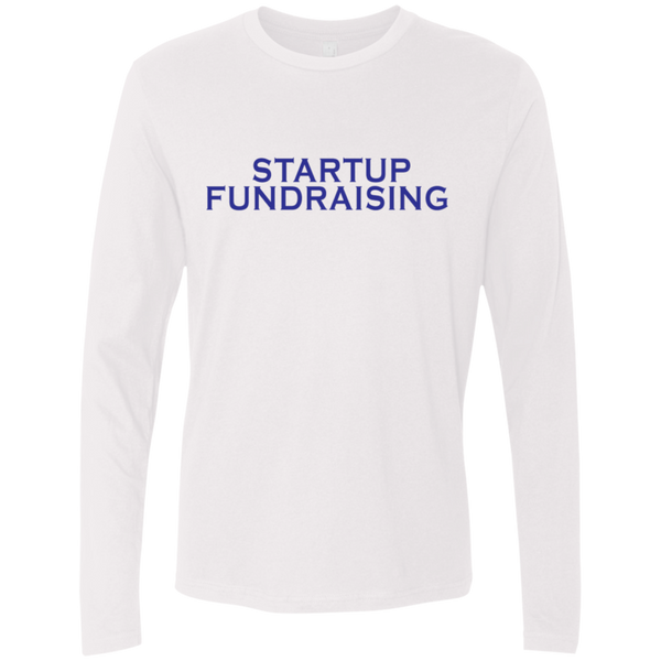 Startup Fundraising Men's Long Sleeve Tee