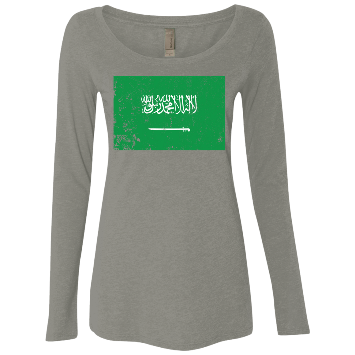 Saudi Arabia Women's Long Sleeve Tee