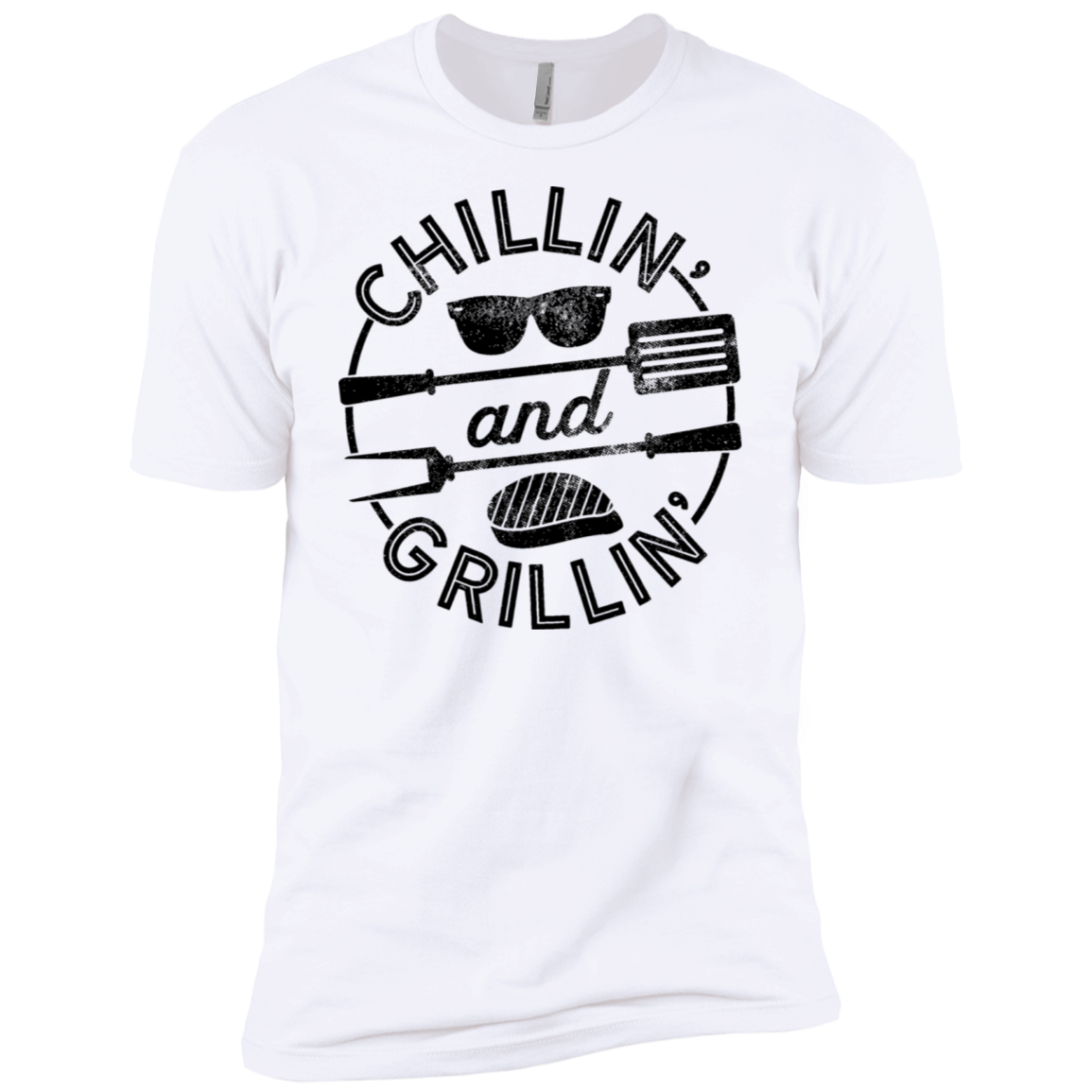 Chillin and Grillin Men's Classic Tee - Trendy Tees