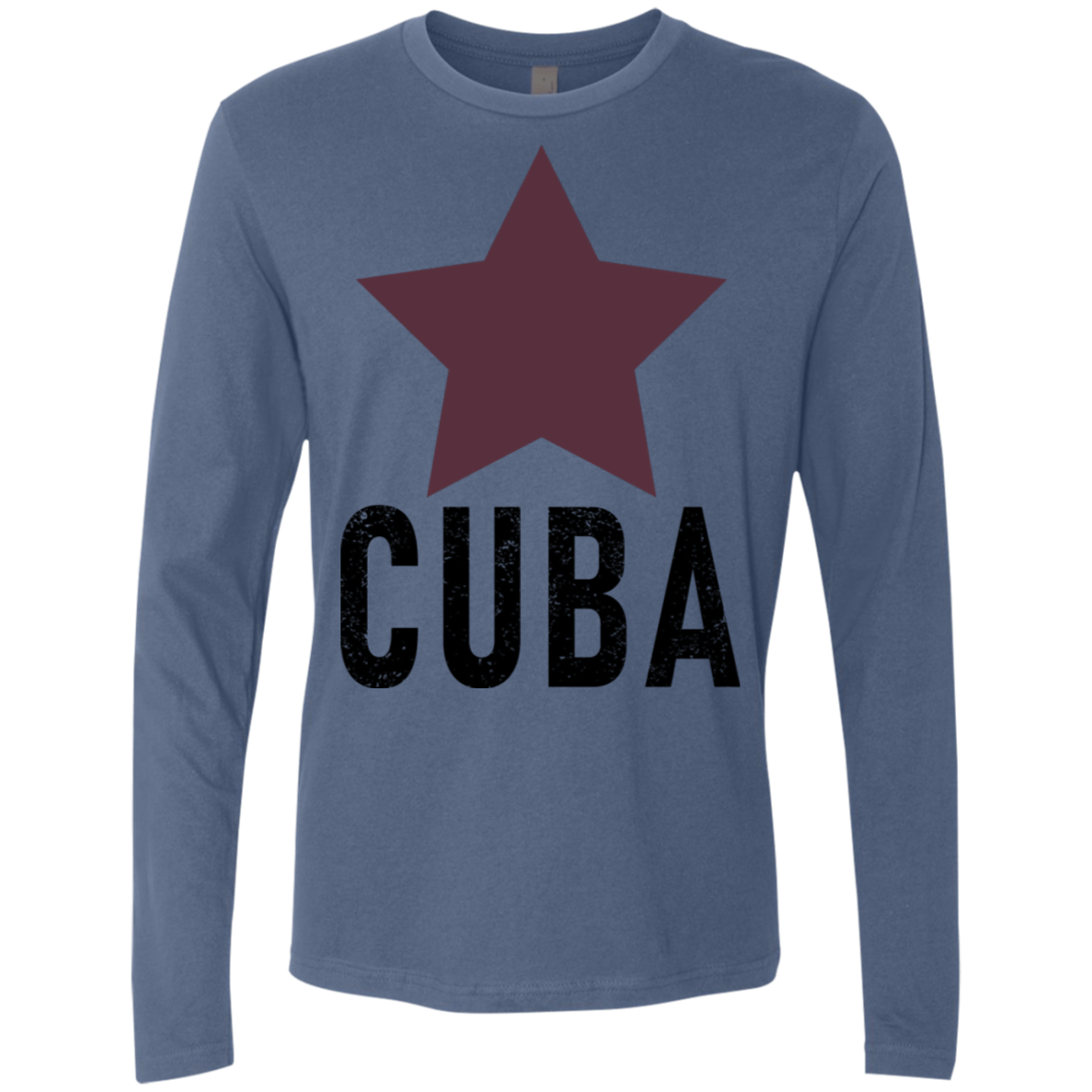 Cuba copy Men's Long Sleeve Tee
