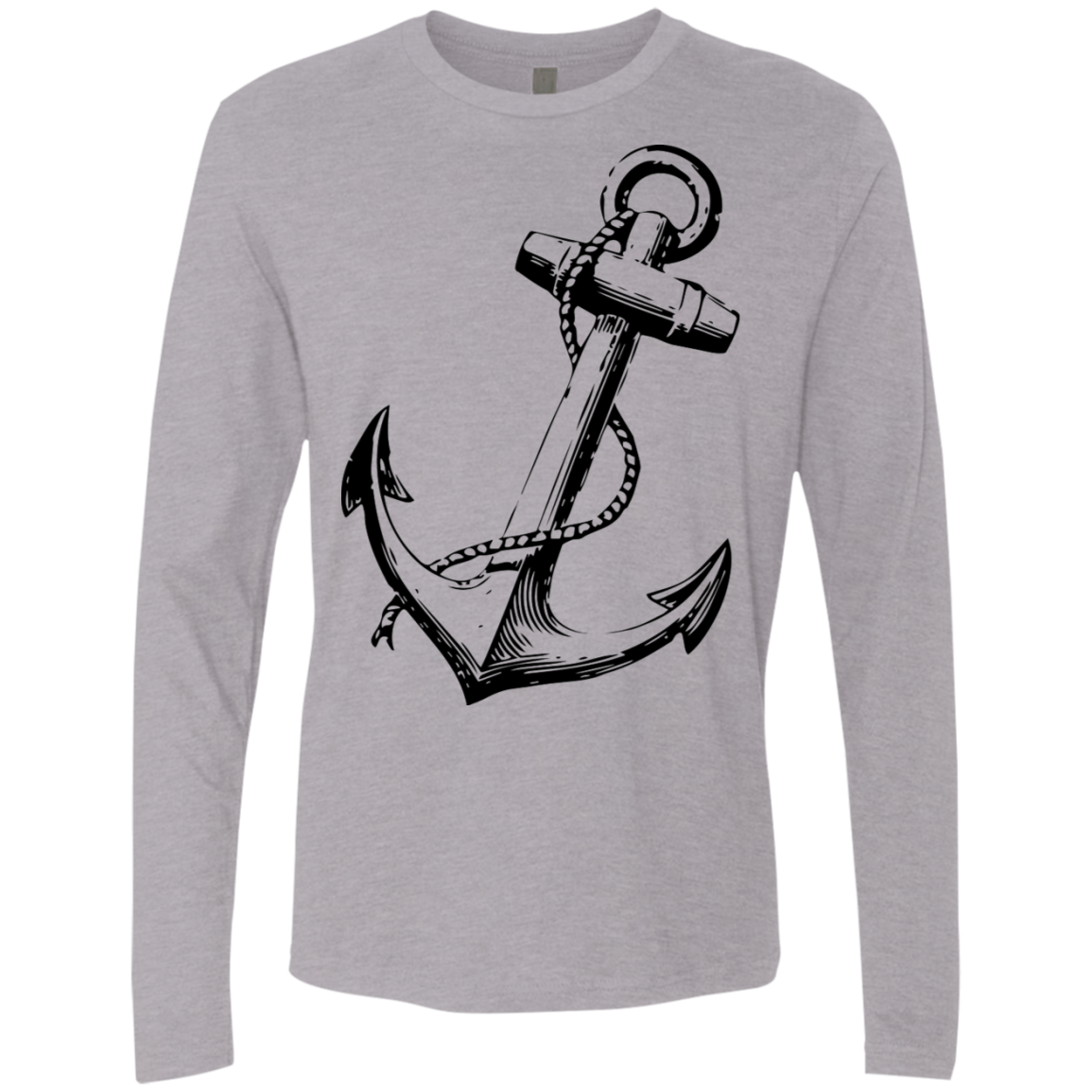 Anchors Away Men's Long Sleeve Tee - Trendy Tees