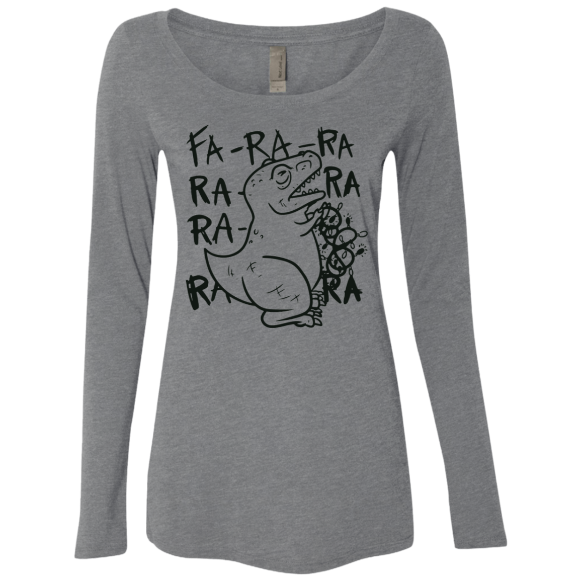 Fa-Ra-Ra-Ra Women's Long Sleeve Tee
