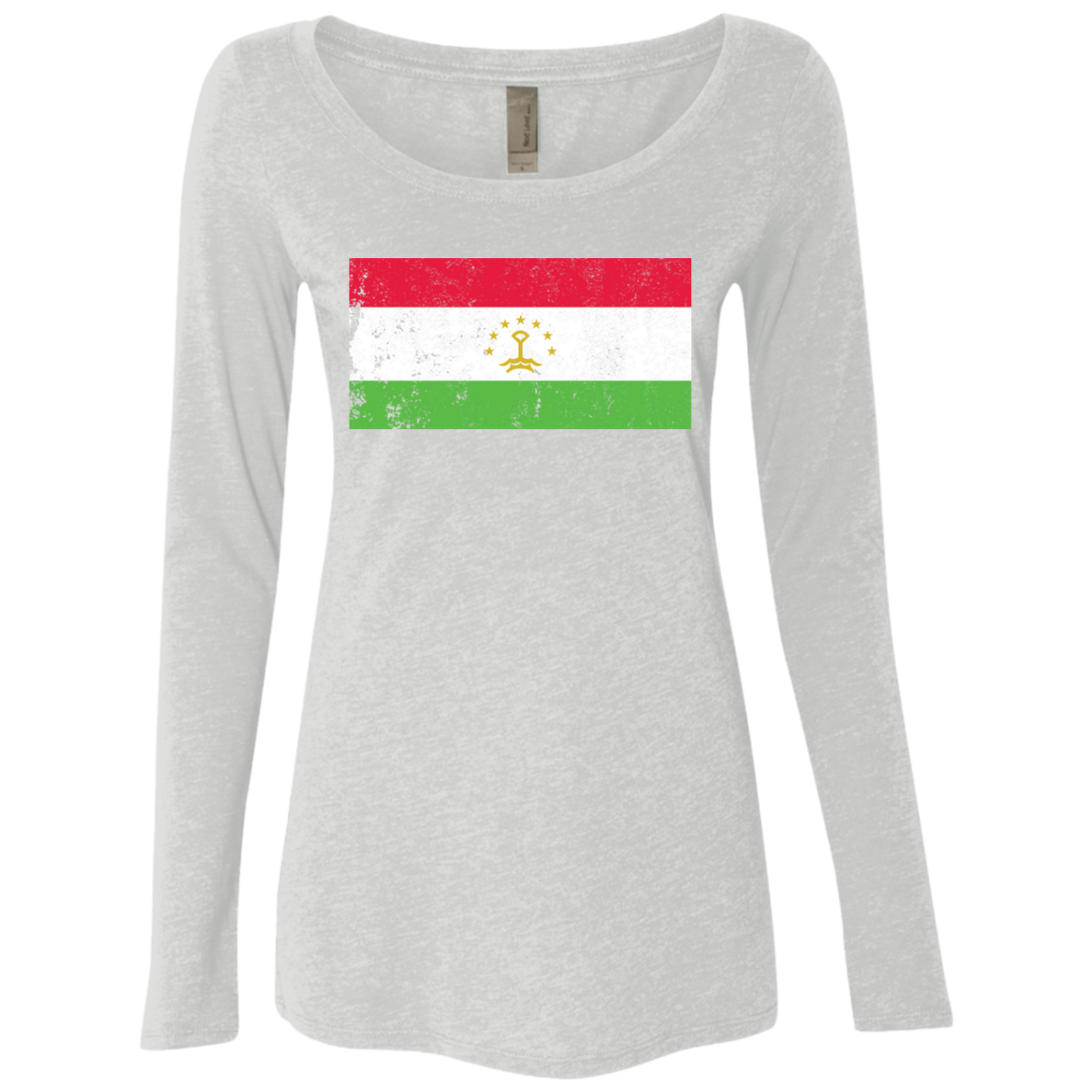 Tajikistan Women's Long Sleeve Tee