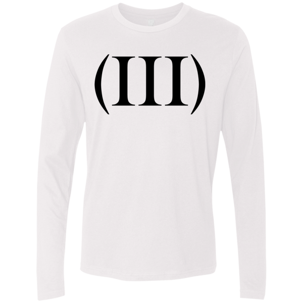 (III) Men's Long Sleeve Tee