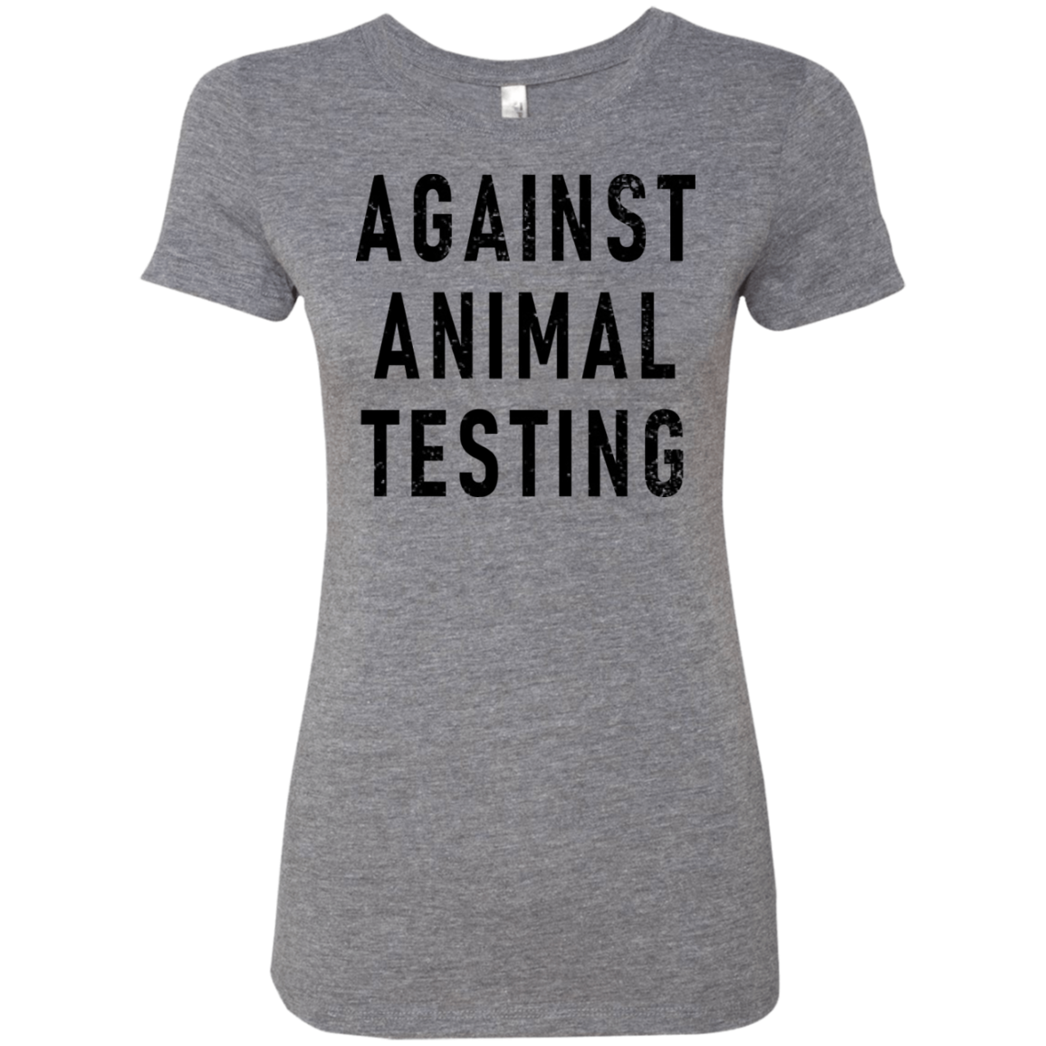 Against Animal Testing Women's Classic Tee