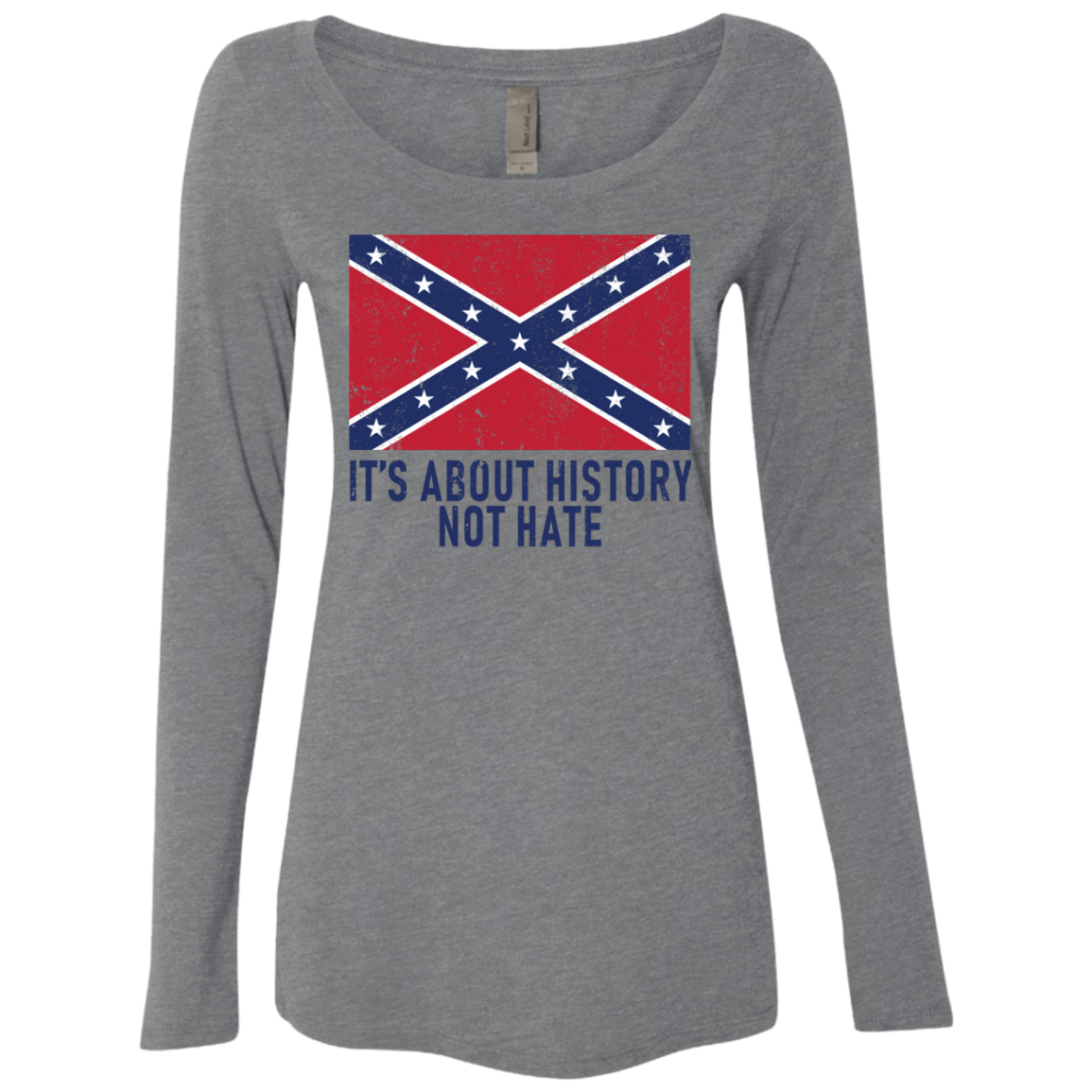 It's About History Not Hate Women's Long Sleeve Tee