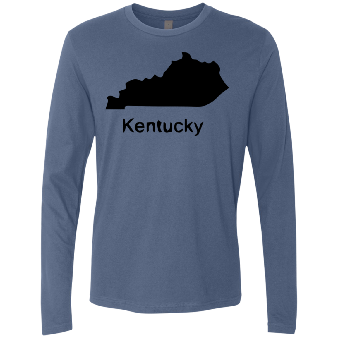 Kentucky Black Men's Long Sleeve Tee