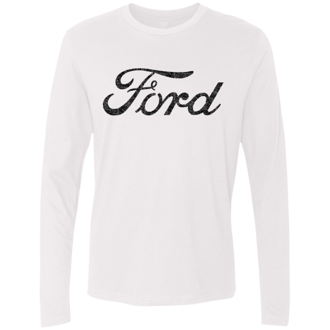 Ford Logo Men's Long Sleeve Tee