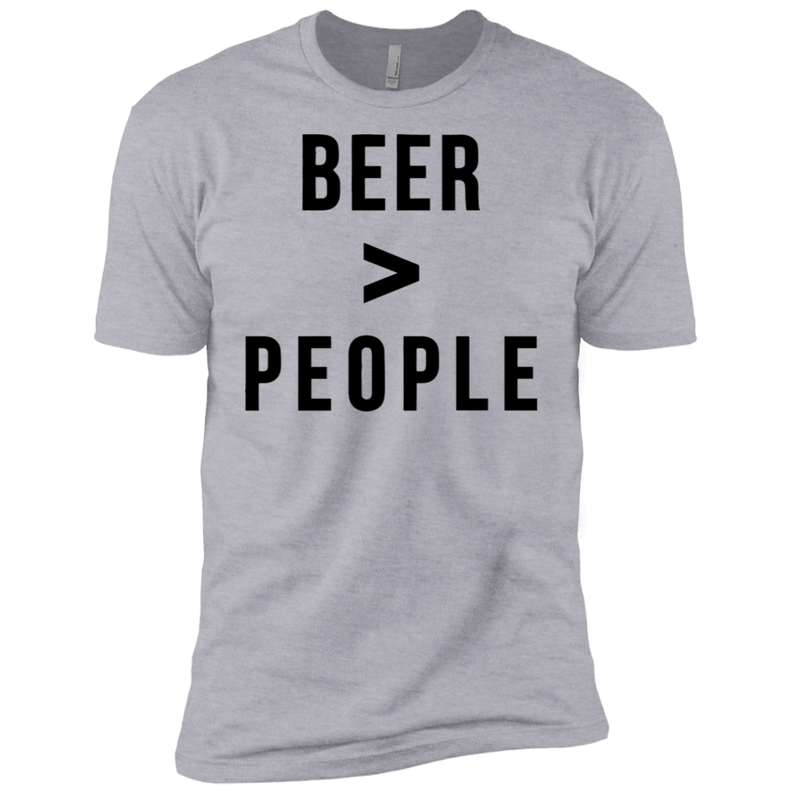 Beer Greater than People Men's Classic Tee