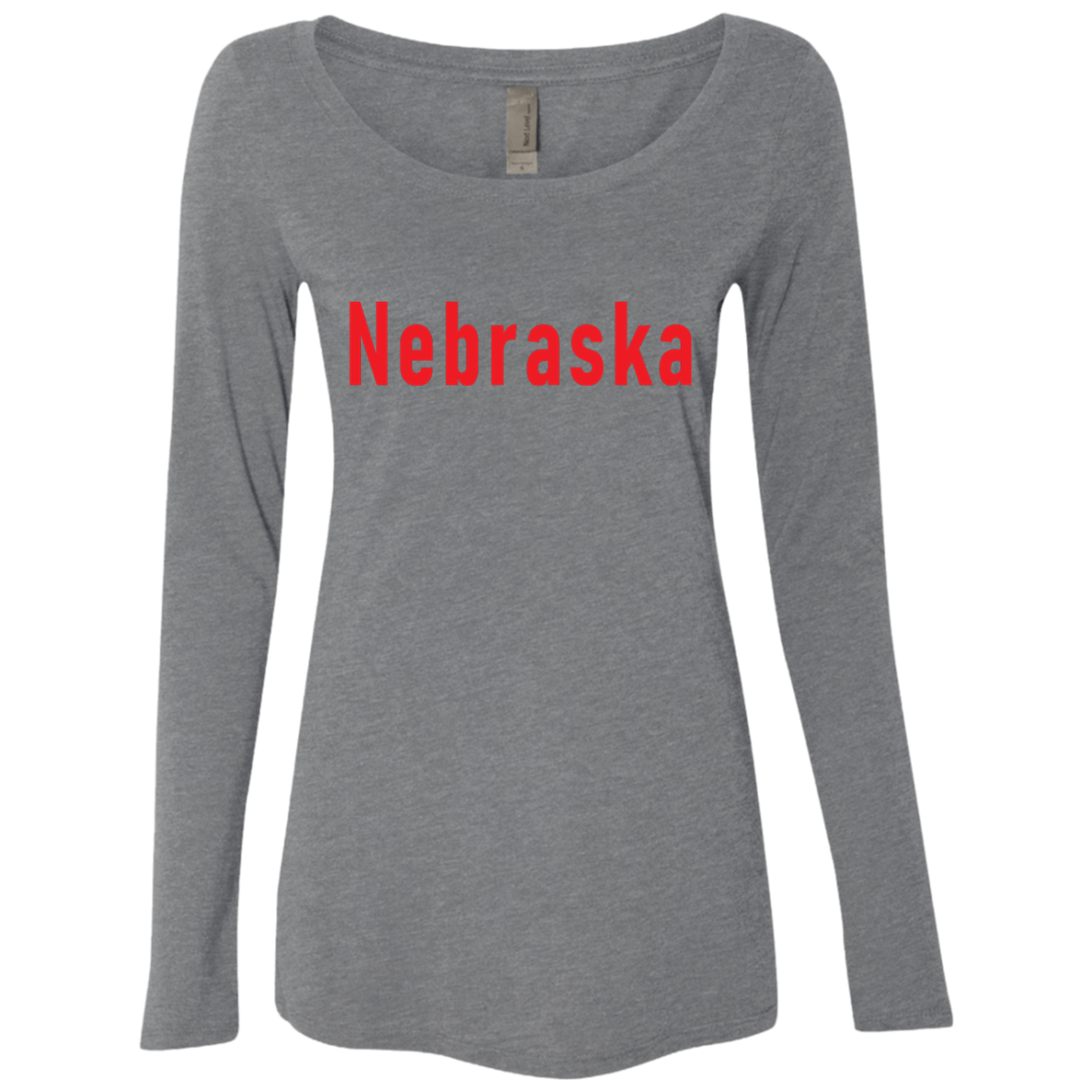 Nebraska Women's Long Sleeve Tee