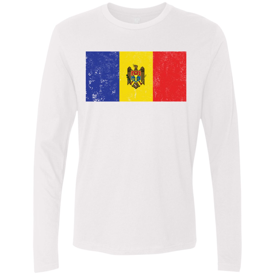 Moldova Men's Long Sleeve Tee