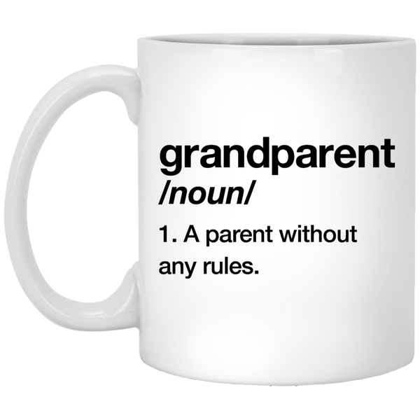 Grandparent Definition 11 oz. White Coffee Mug