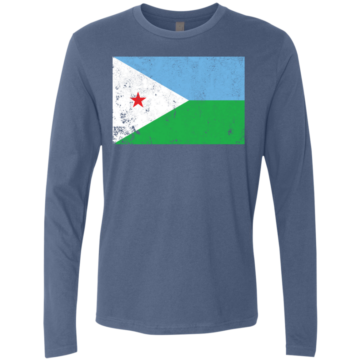 Djibouty Men's Long Sleeve Tee