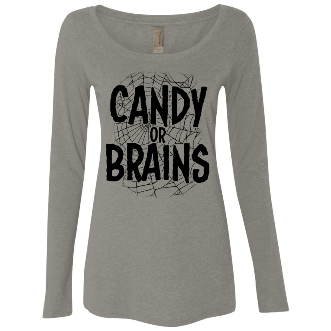 Candy Or Brains Women's Long Sleeve Tee