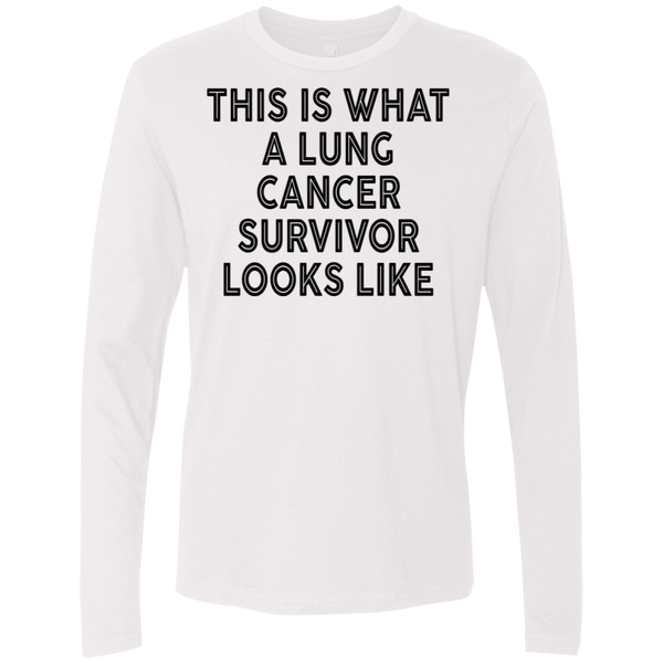 This Is What Cancer Survivor Looks Like Men's Long Sleeve Tee