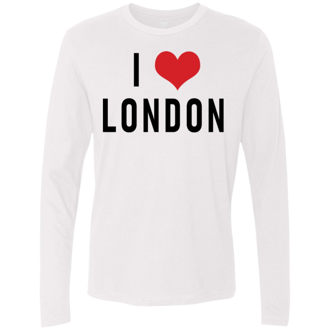 I Love London Men's Long Sleeve Tee