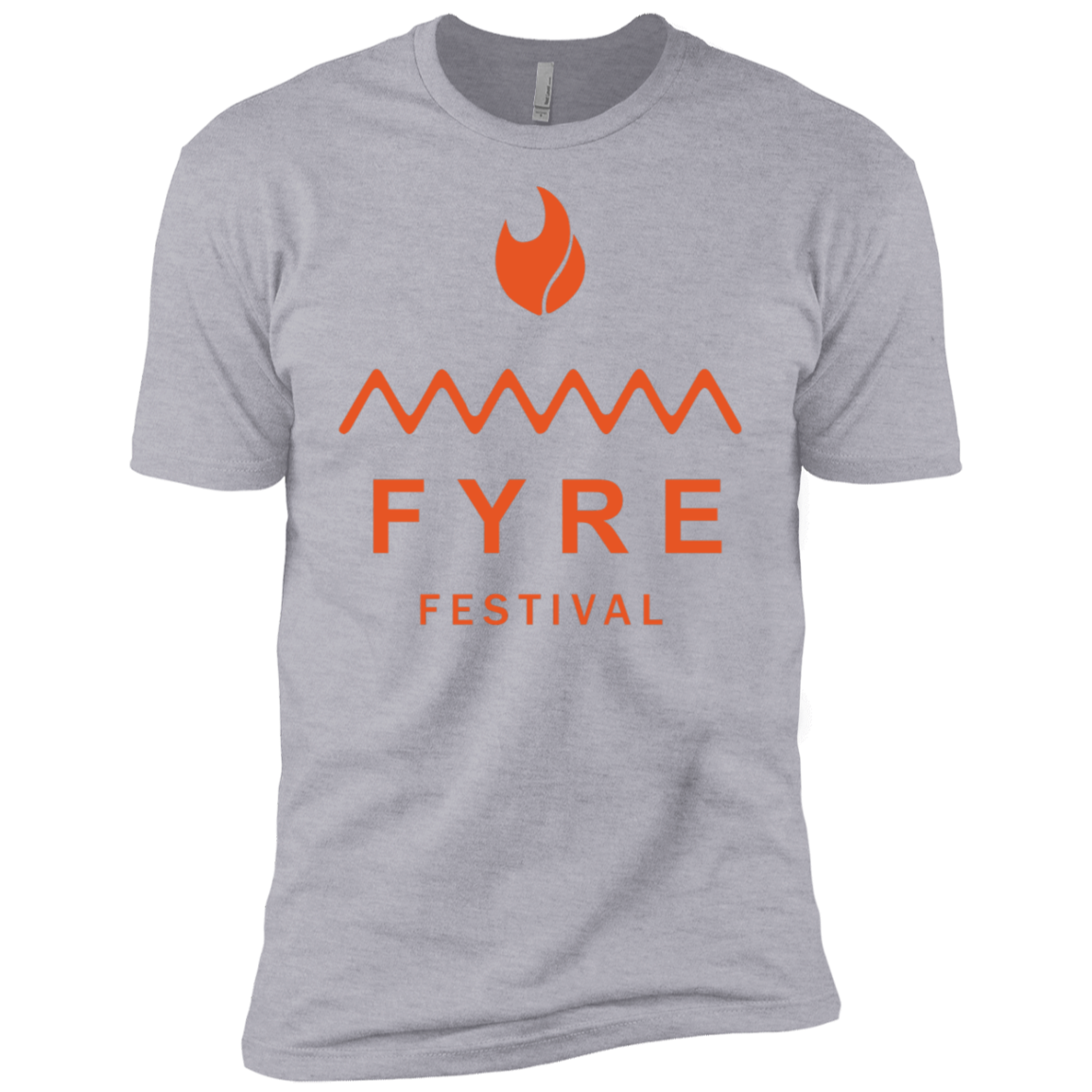 Fyre Festival was Lit Orange Men's Classic Tee