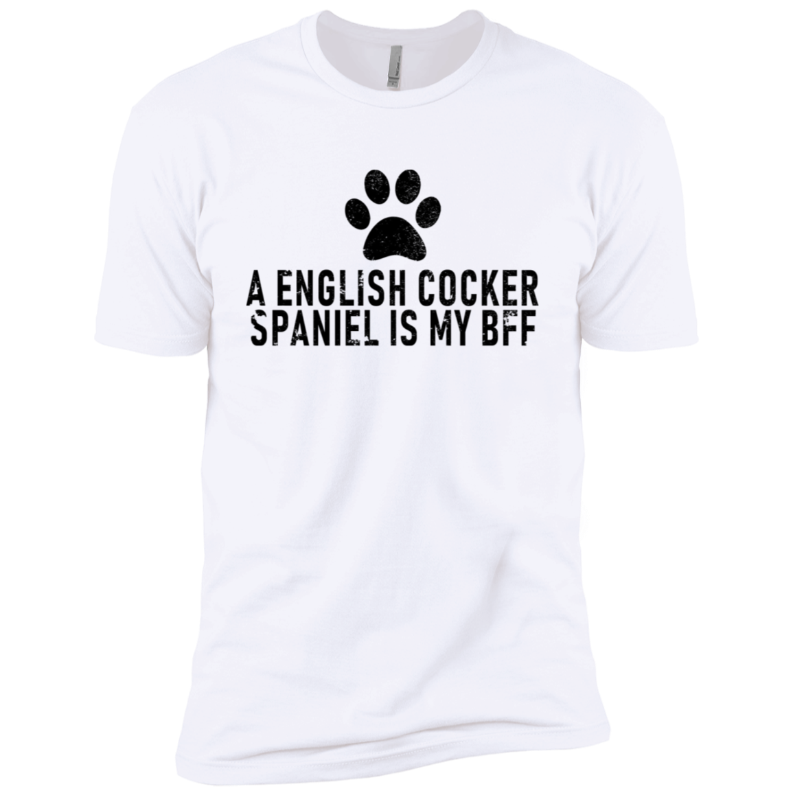 A English Cocker Spaniel Is My Bff Men's Classic Tee