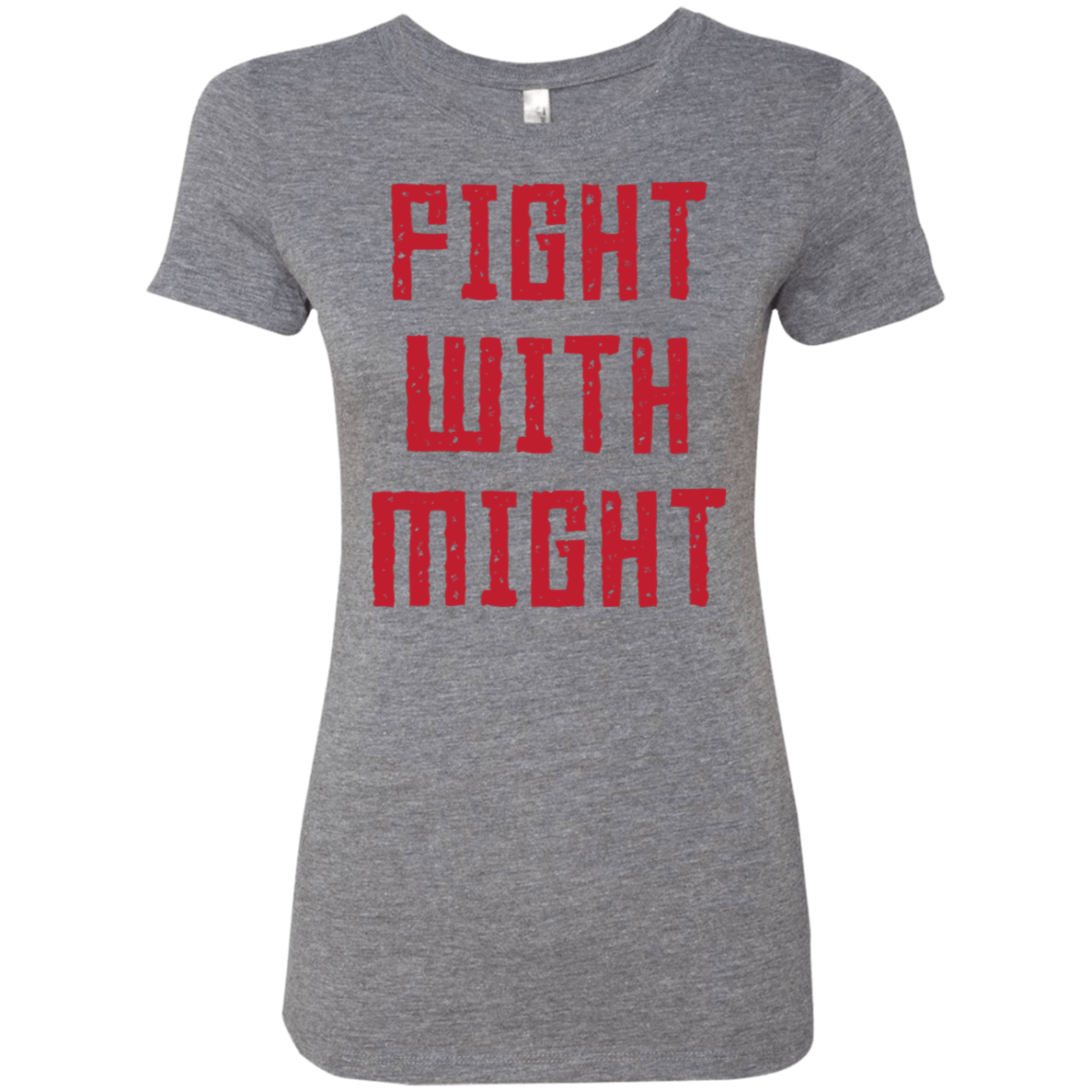 Fight With Might Women's Classic Tee