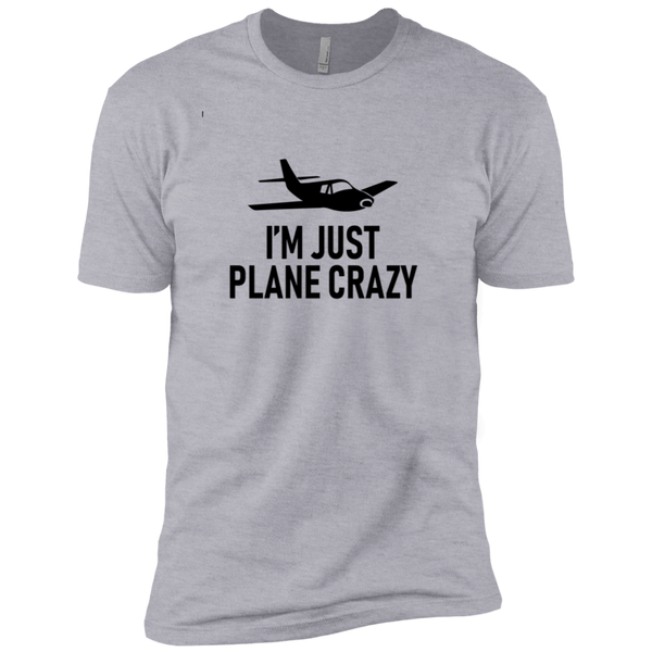 I'm Just Plane Crazy Men's Classic Tee