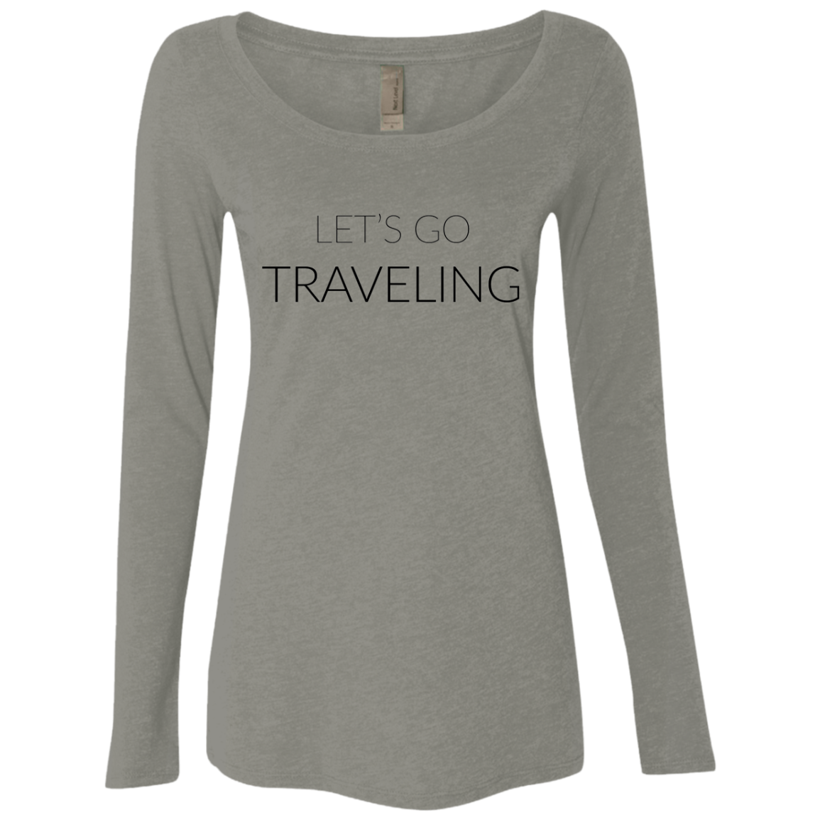 Let's Go Traveling Women's Long Sleeve Tee
