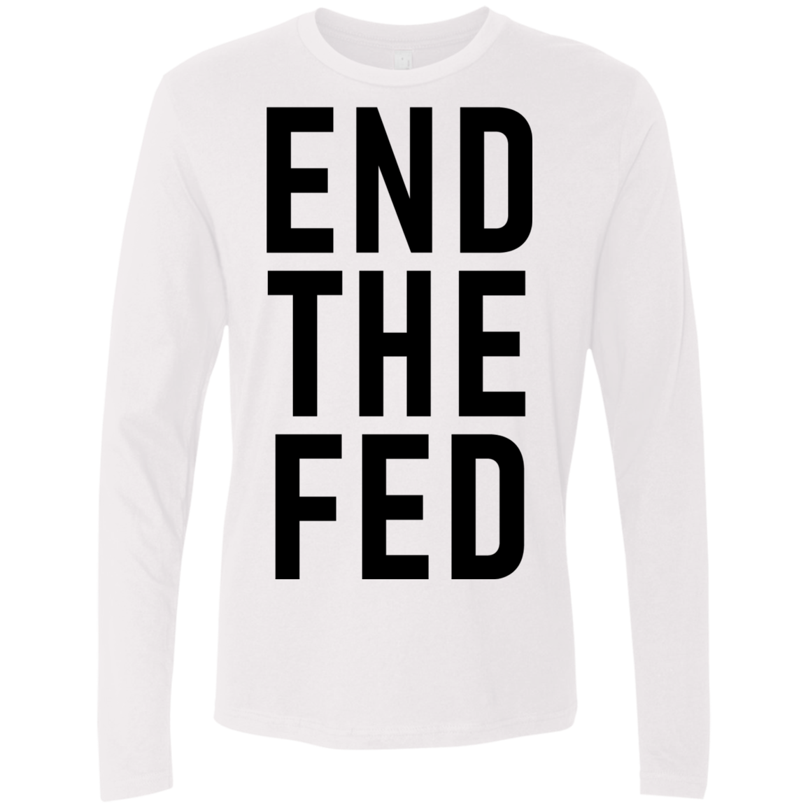 The End Fed Men's Long Sleeve Tee