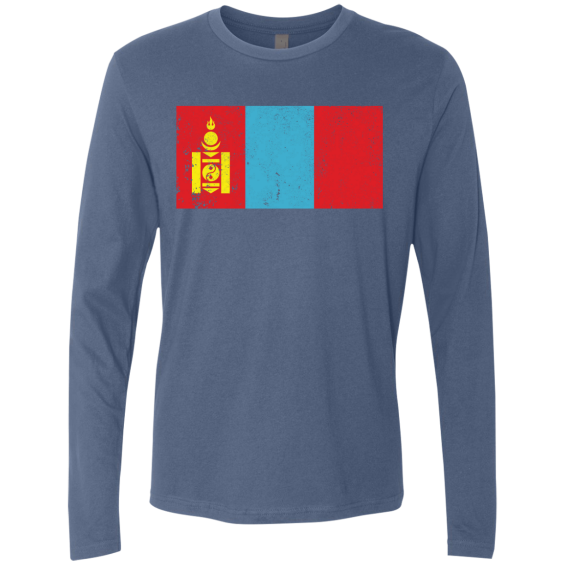 Mongolia Men's Long Sleeve Tee