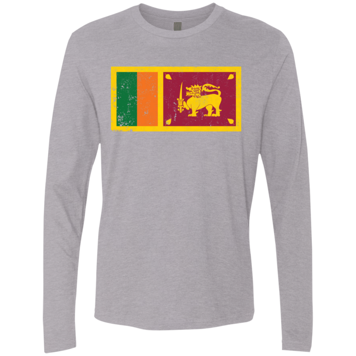 Sri Lanka Men's Long Sleeve Tee