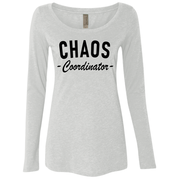 Chaos Coordinator Women's Long Sleeve Tee