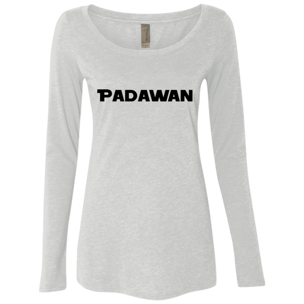 Padawan Star Wars Women's Long Sleeve Tee