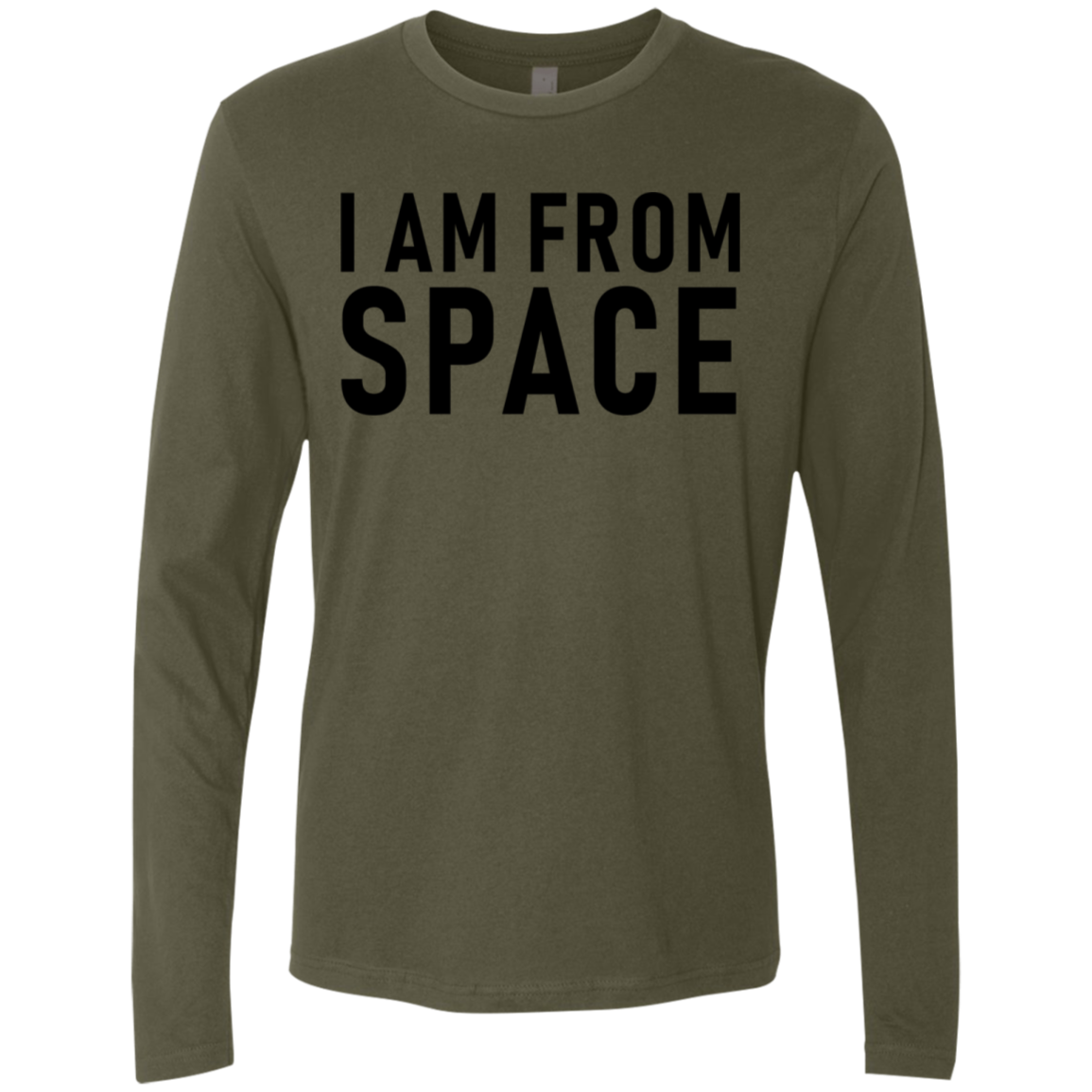 I Am From Space Men's Long Sleeve Tee