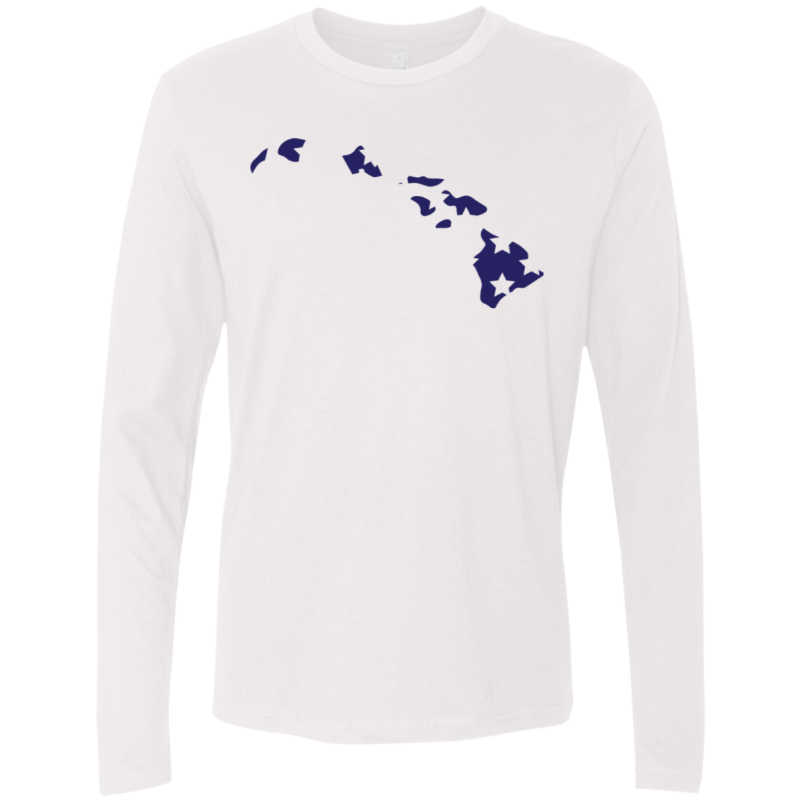 Hawaii Stars Men's Long Sleeve Tee