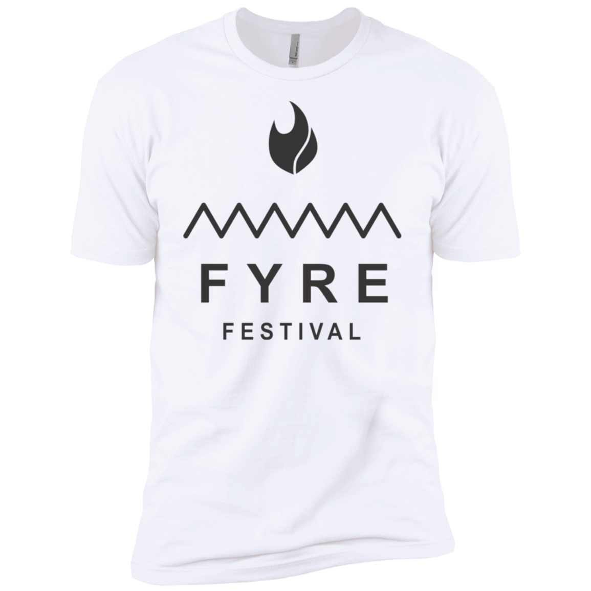 Fyre Festival was Lit Black Men's Classic Tee