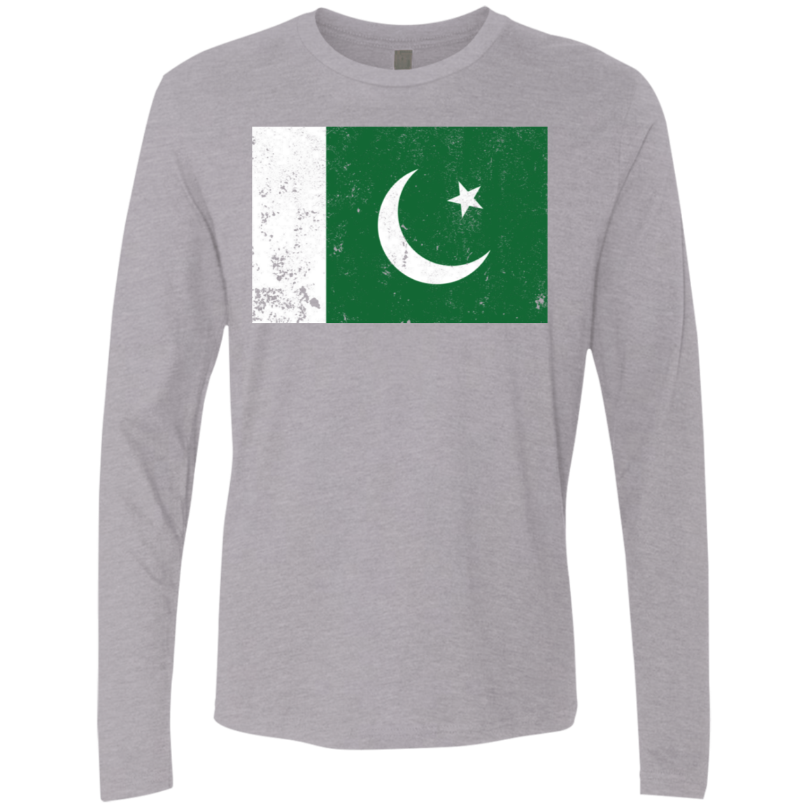 Pakistan Men's Long Sleeve Tee