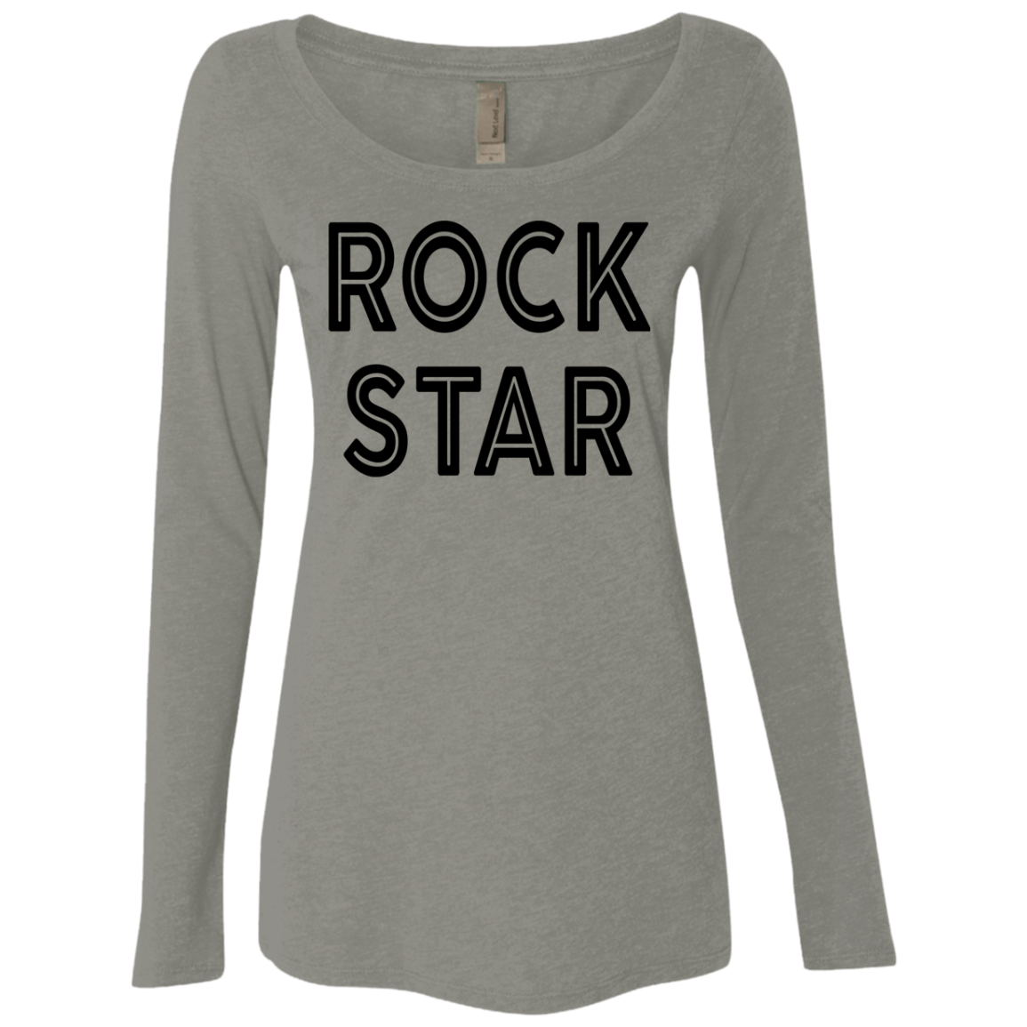 Rock Star Women's Long Sleeve Tee
