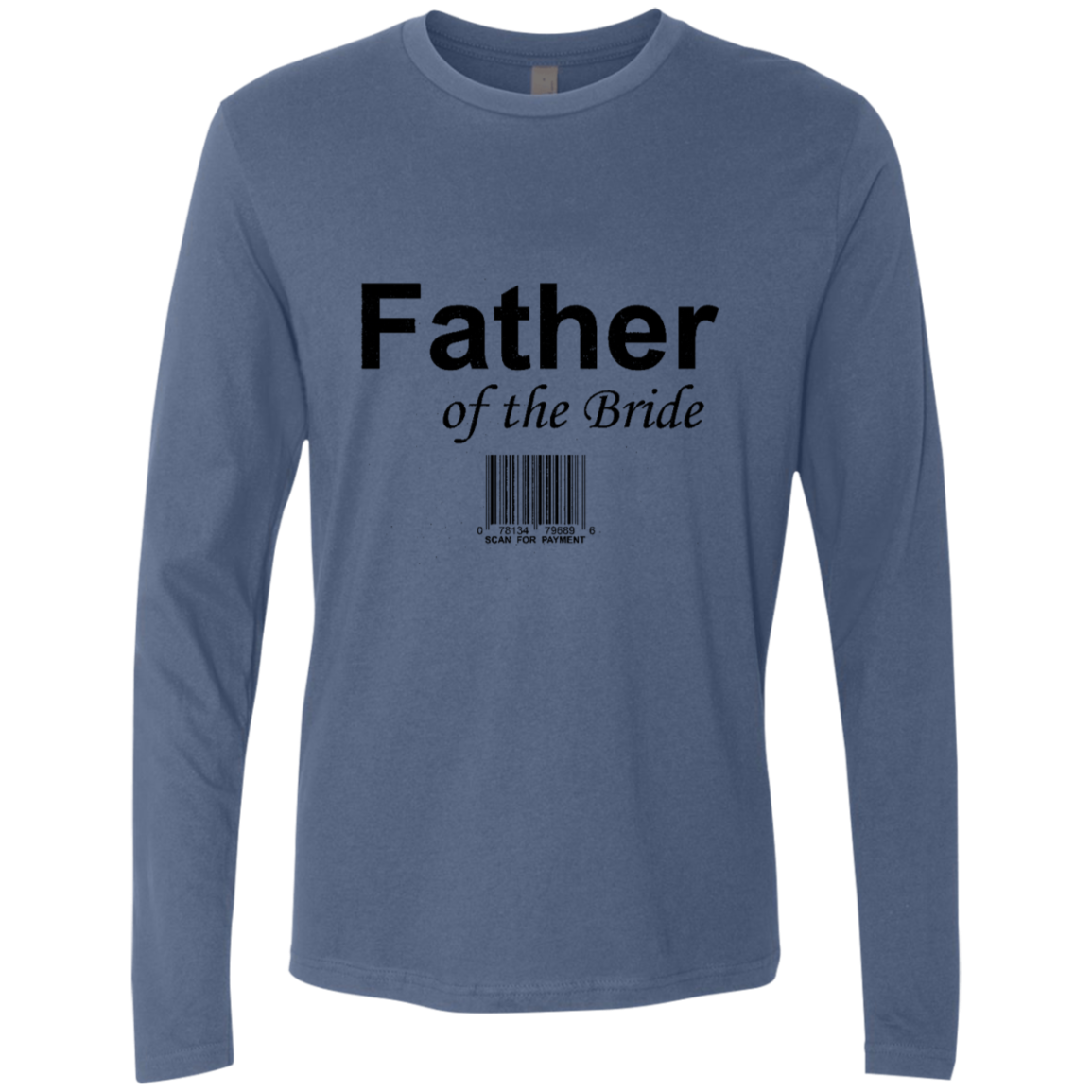 Father Of The Bride Men's Long Sleeve Tee