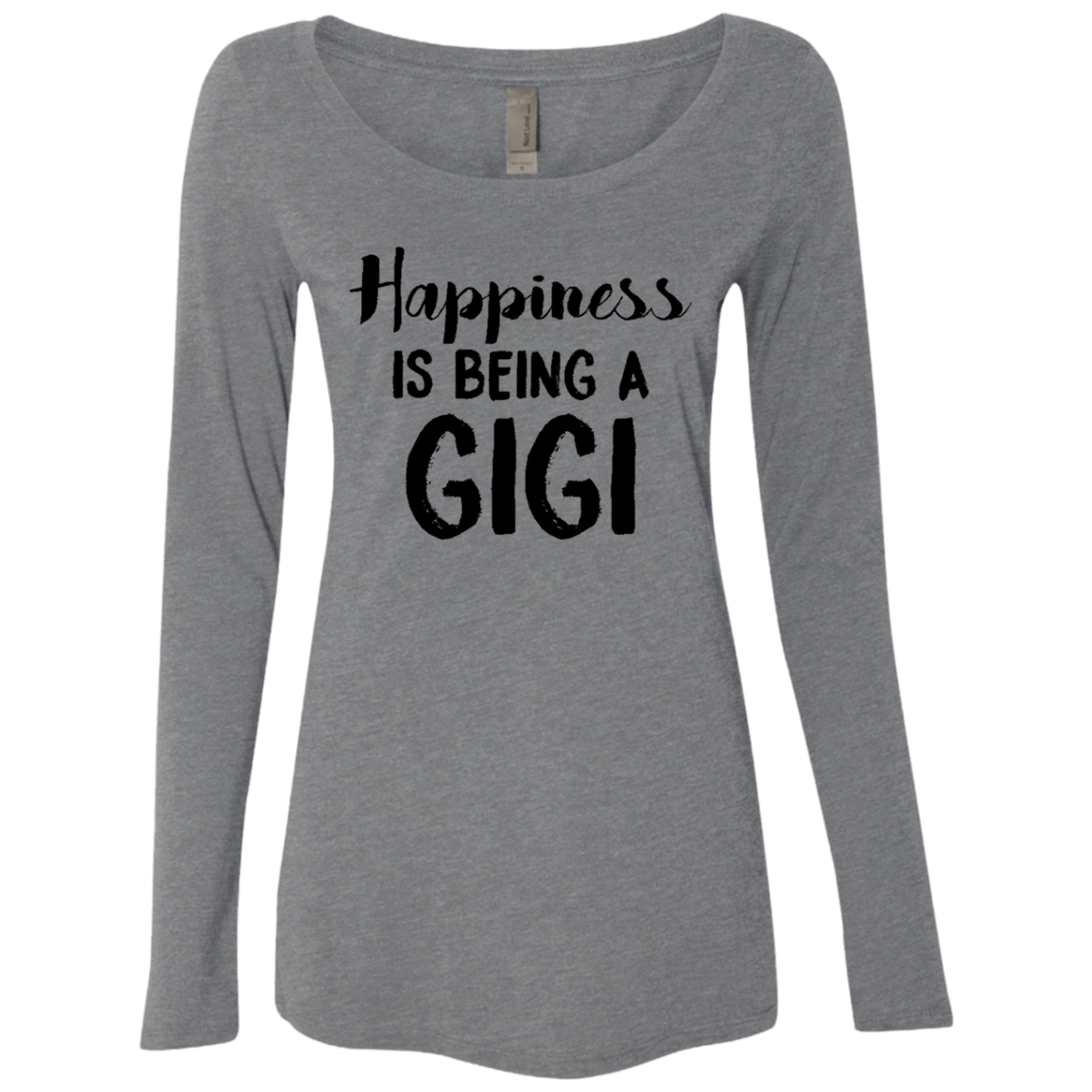 Happiness Is Being A GIGI Women's Long Sleeve Tee